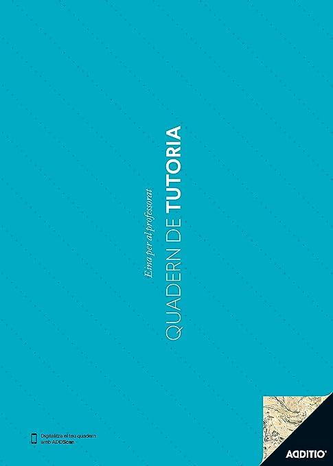 Additio P131 - Cuaderno de Tutoría (catalán), color aguamarina