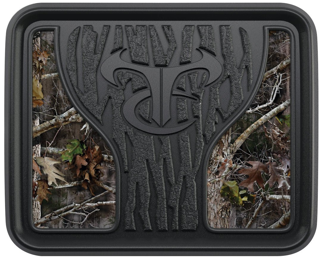 Custom Accessories 79907 Floor Mat (Kanati Camo All Weather, 2-Piece) True Timber