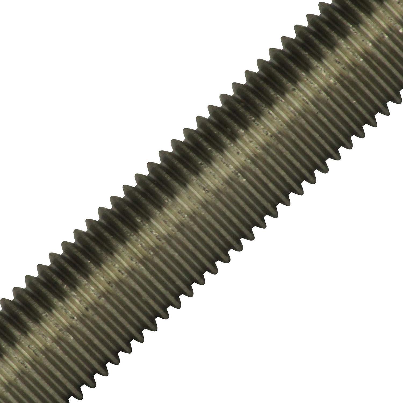 1/pieza rosca Barra M2/hasta M36/ /1000/mm DIN 975/Acero Inoxidable A2