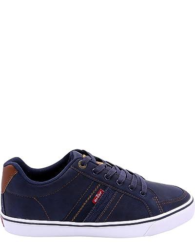 Levis Men's Turner Nappa Sneaker,Navy,7