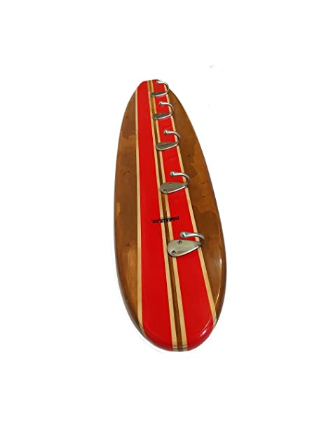 Surfboard Coat Rack Red Amazoncouk Kitchen Home Awesome Surfboard Coat Rack