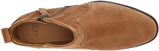 ccd8af92379 UGG Women's AUREO Ankle Boot, Chestnut, 8.5 M US: Amazon.co.uk ...