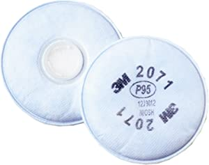 3M Particulate Filter 2071 Pack of 1 (2 filters)