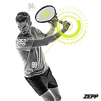 Zepp Tennis 2.0 Analizador de Partido & Swing, Ayudas de ...