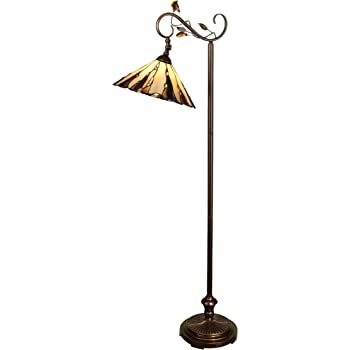 Dale Tiffany Tf90263 Tiffany Downbridge Floor Lamp With