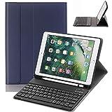 iPad 9.7 Keyboard Case with Pencil Holder for iPad 9.7 2018&2017,iPad Pro 9.7,iPad Air 2&1 Smart Stand PU Leather Case…