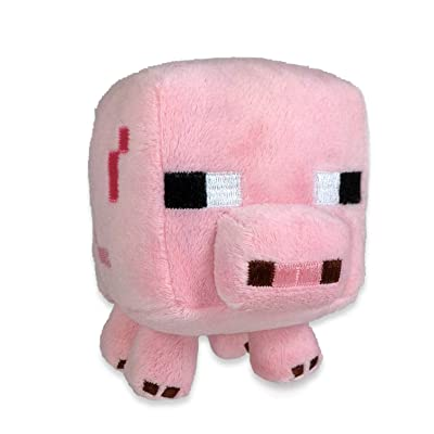 "Minecraft Baby Pig 7"" Plush: Toys & Games"