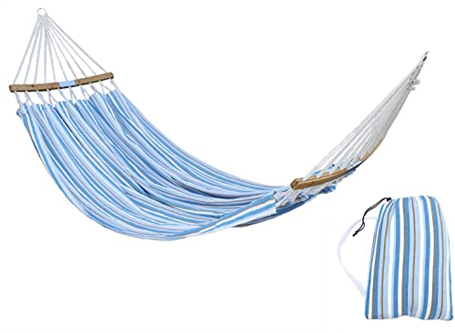 HENG FENG Brazilian Double Hammock 2 Person Cotton Fabric Hammock