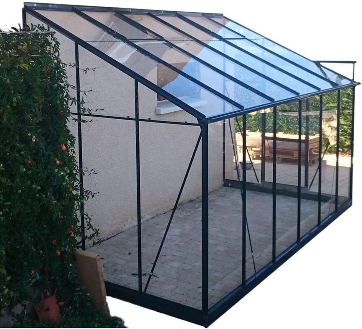 Chalet-Jardin Invernadero de Cristal Templado Solarium 9, 61 m2 + ...