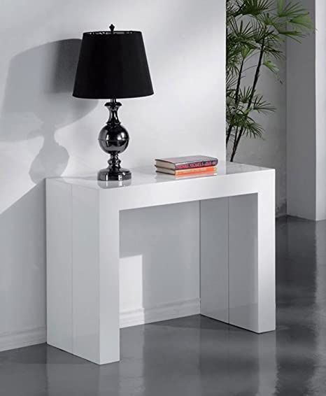 L01 709 Tavolo Design Moderno Salotto Soggiorno Consolle Ingresso