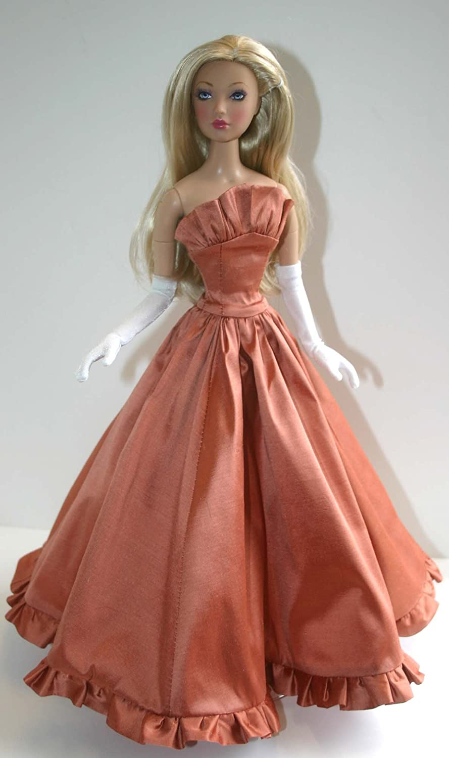 """Dance with Me Gown Doll Clothes Sewing Pattern for 16/"""" Alex Madame Alexander"""