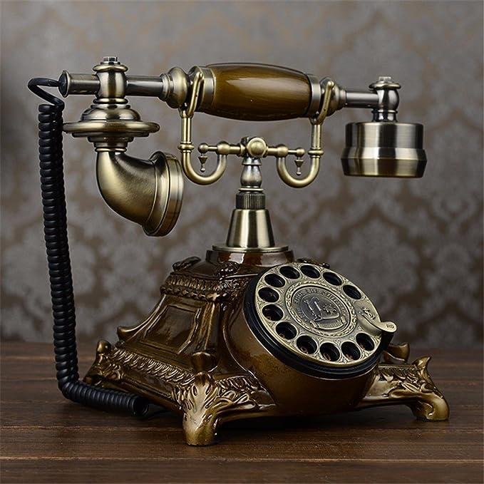 Vintage Retro Teléfono Tocadiscos Retro continental antiguos ...