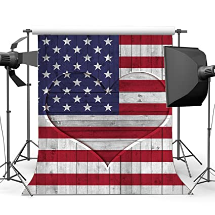 amazon com gladbuy 5x7ft american flag backdrop stars and stripes