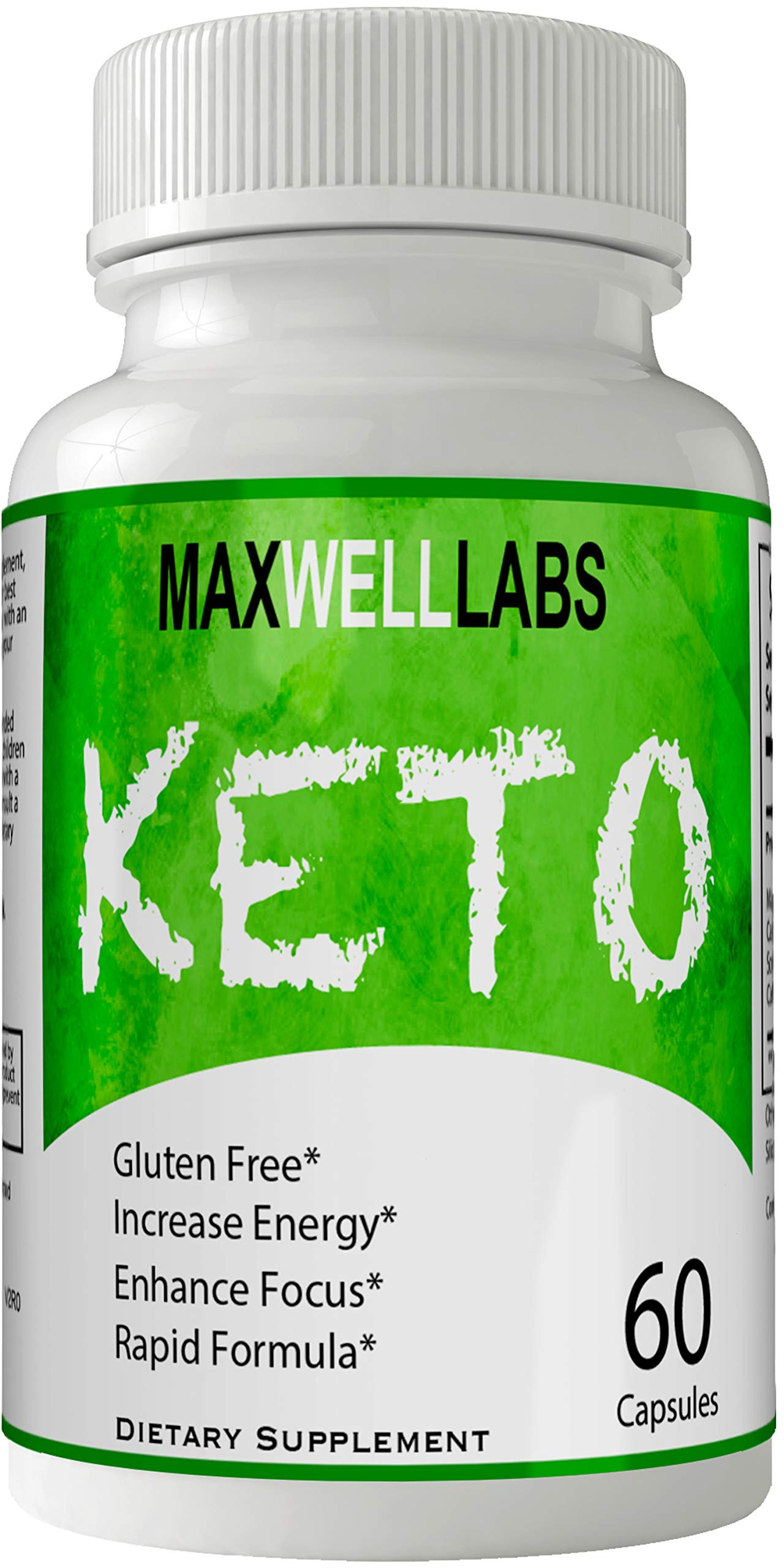 Maxwell Keto Pills Advance Weight Loss Supplement, Appetite Suppressant with Ultra Advanced Natural Ketogenic Capsules, 800 mg Fast Formula with BHB Salts Ketone Diet Boost Metabolism and Pulls Focus