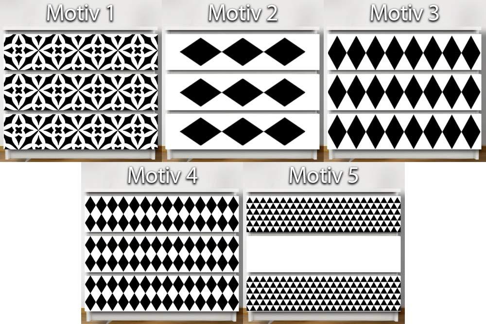 Noir 79 6 X 20 2 Cm Motiv 1 Pourgrandora W5257 Sticker Mural