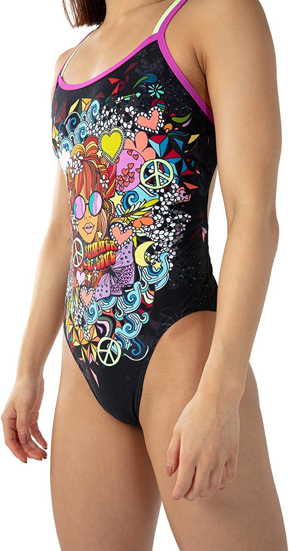 Speedo Hippy Chick Dreams Placement Double Crossback Costume da Bagno Donna
