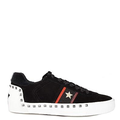 Ash Footwear Neo Zapatillas Negras con Tachuelas - Zapatillas de Mujer: Amazon.es: Zapatos y complementos