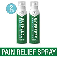 Deals on 2-Pack Biofreeze Pain Relief Spray 4oz Aerosol Spray