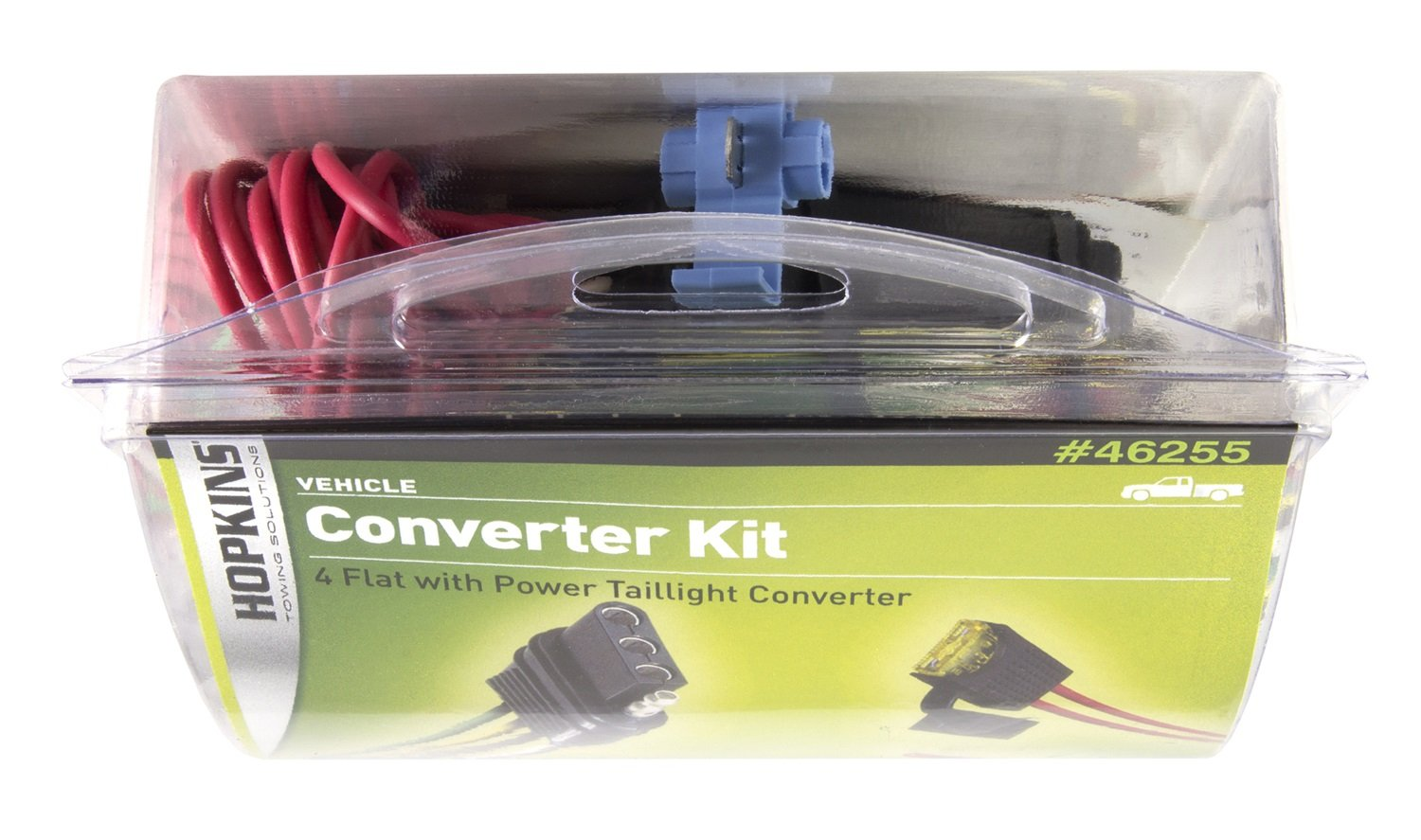 Hopkins 46255 Power Taillight Converter Automotive 4 Flat Trailer Wiring Diagram Direct