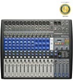 Presonus StudioLive AR16 USB 18-channel Hybrid Performance and Recording Mixer with 1 Year Free Extended Warranty