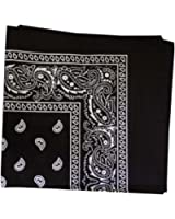 "Burlapfabric.com Paisley Bandanas 12 Pack 22""x22"" 100% Cotton"