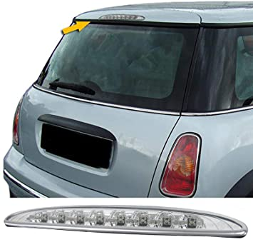 Bremsleuchte chrom Carparts-Online 29997 Klarglas LED 3
