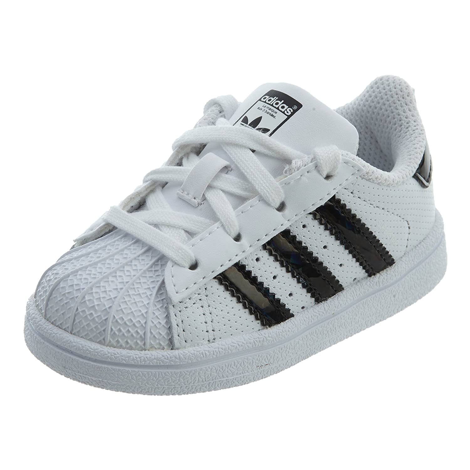 new product 9c433 939d4 adidas Originals Baby Boys Originals Superstar Shoes I (7.5 Toddler M)  White/Black
