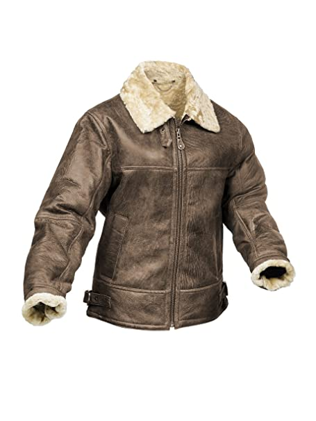 Radford Leather Fashions - Chaqueta - para hombre Aviator Look Talla 60: Amazon.es: Ropa y accesorios