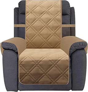Ameritex Waterproof Nonslip Recliner Cover Home Decor Stay in Place, Dog Couch Chair Cover Furniture Protector, Ideal Recliner Slipcovers for Pets and Kids (30