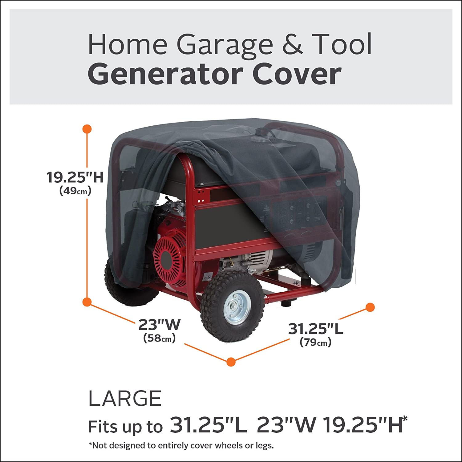 Cover Tech Inc Portable Garage Instant Portable Garage   Amazon Com Classic  Accessories 79537 Generator Cover