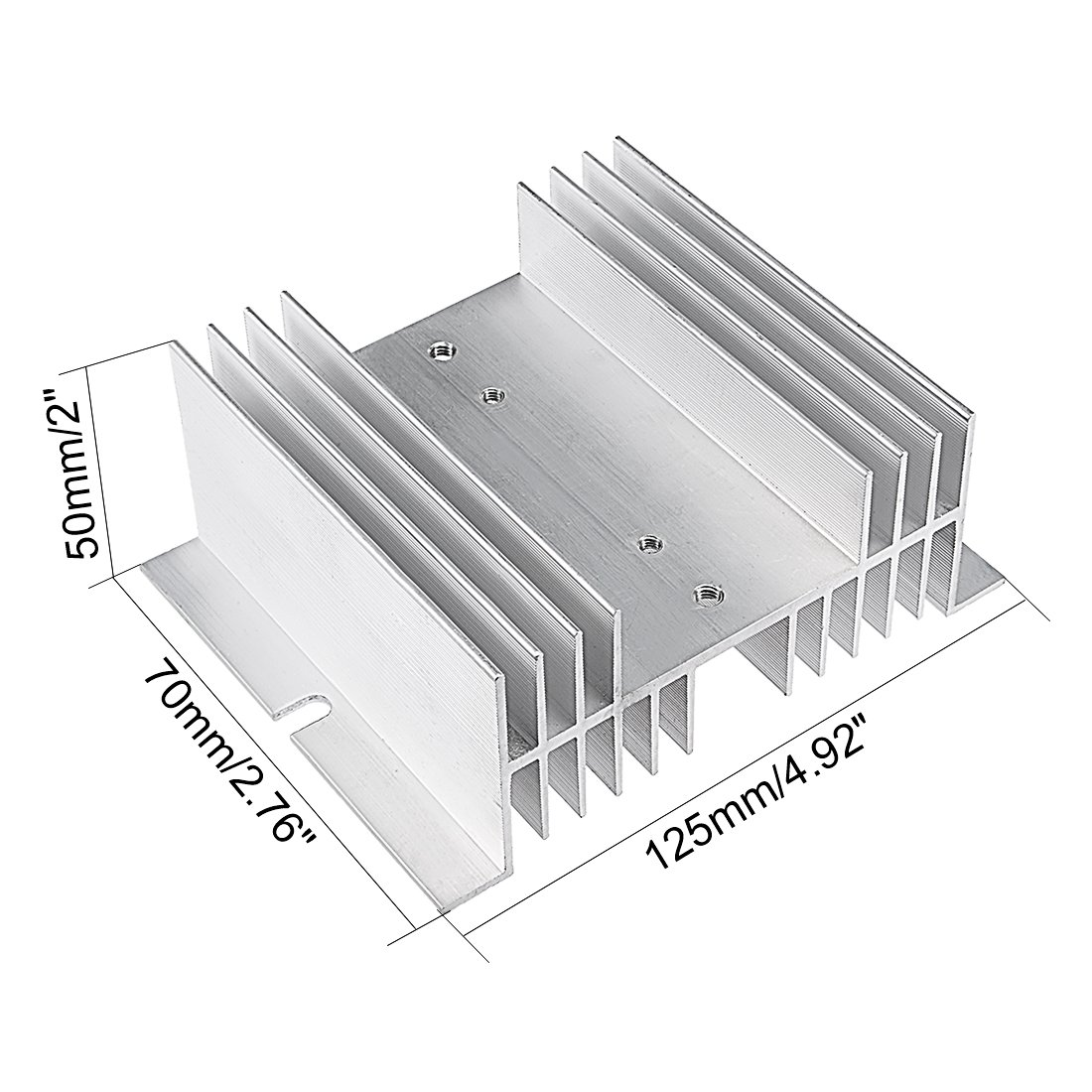 Uxcell Trt 1 D48a25z Mw I 50 Dc 3 32v To Ac 24 480v 25a Single Phase Wiring Diagram