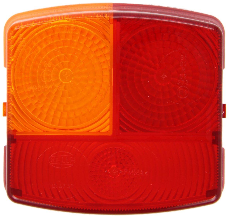 Heckleuchte links Schluss-Blink-Bremslicht HELLA 9EL 137 307-001 Lichtscheibe