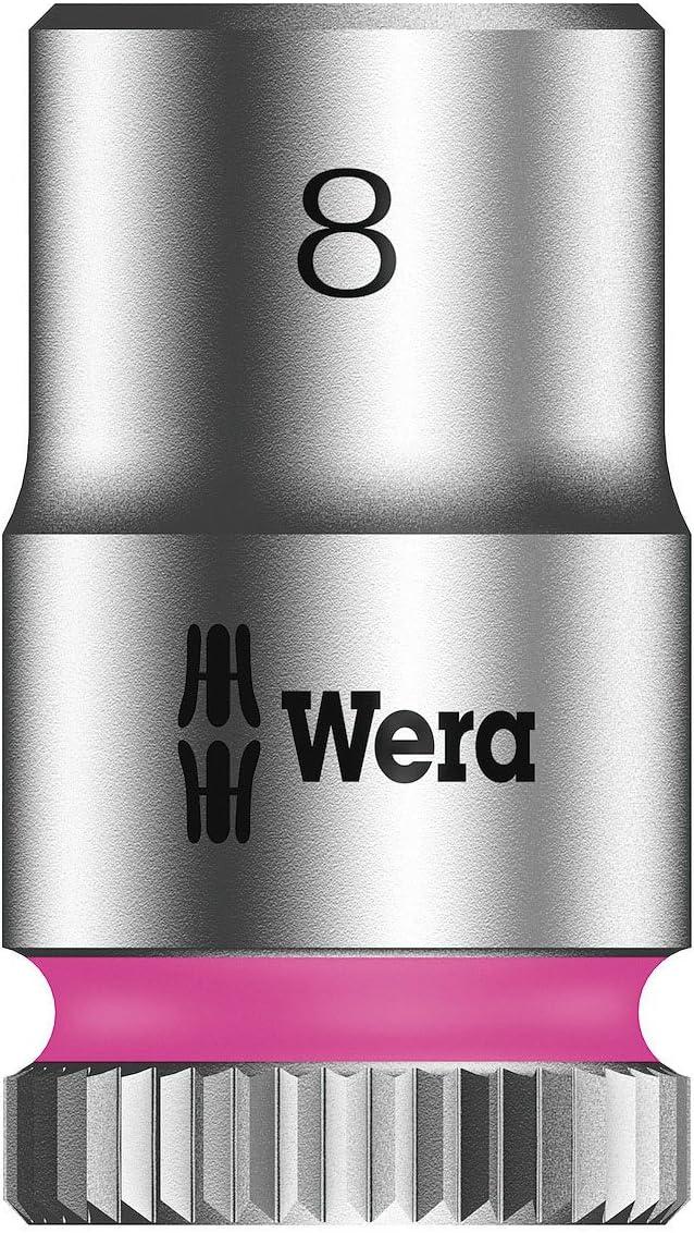 Zyklop Socket 1//4in Drive 8mm Wera