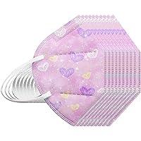 RUITOTP 10/25/50/100 Unidades Unisex Niños Desechables Infantil de Filtro de Elásticos Bufanda Moda Universal 5 Capa…