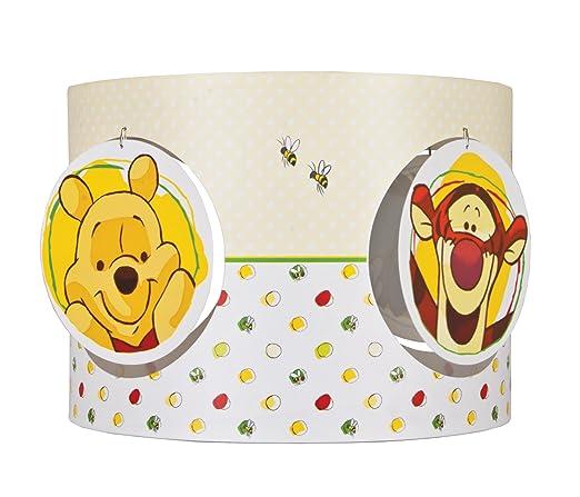 lámpara Disney techo de diseño Pantalla con Winnie para de yfvgY76b