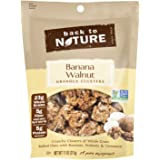 Back to Nature Non GMO Granola Clusters, Banana Walnut, 11-Ounce
