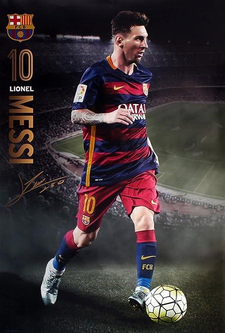 Générique GB Eye, Barcelona FC, Messi Action 15/16, Maxi Poster ...