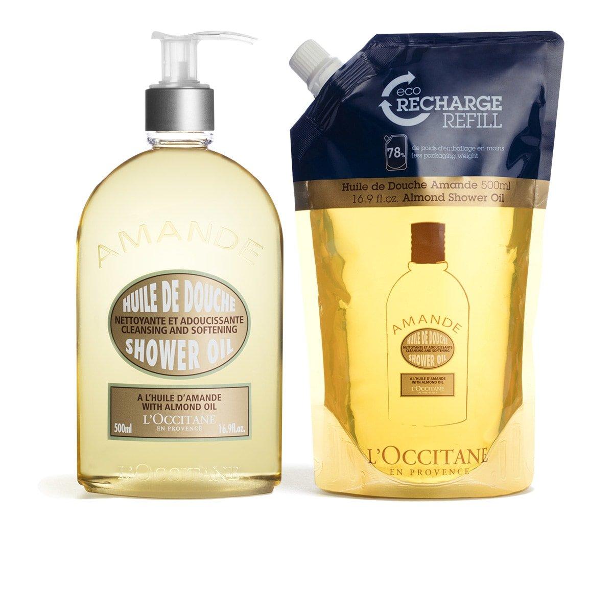 L'Occitane Almond Shower Refill Duo