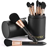 OMANIAC Professional Makeup Brushes Set (12Pcs), Pearl Flash Handles, Comfortable To Hold And Easy To Use. Eyeshadow, Blush,
