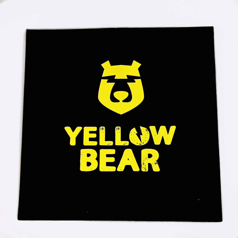 Tour de Cou Yellow Bear Noir