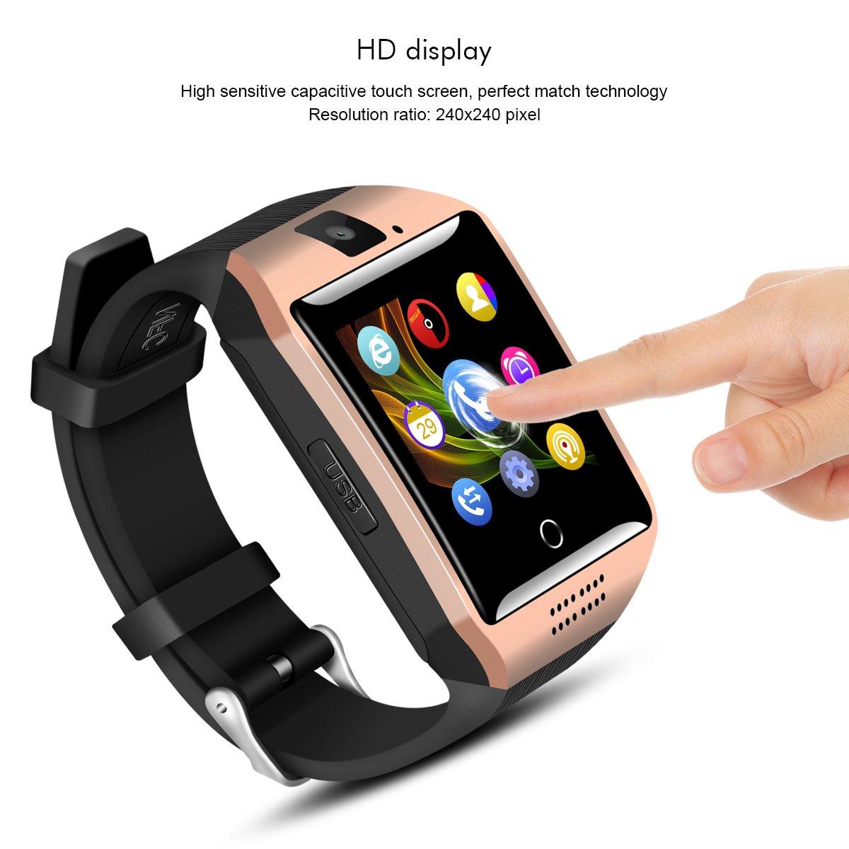 Amazon.com: Padcod - Reloj inteligente con Bluetooth y ...