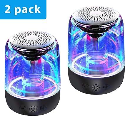 Luminous Lamp Rechargeable Wireless  Speaker Portable Mini Super Bass M