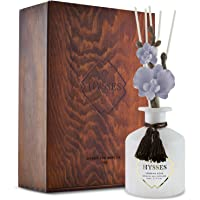 HYSSES Orchid Moulin Joli Reed Diffuser, Ginger Peppermint, White, 150 milliliters