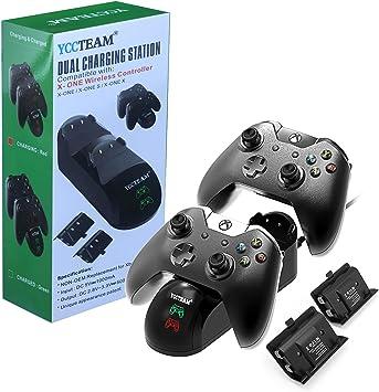 Cargador de Mando Xbox One, Xbox One/One S/One Elite, estación de ...