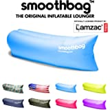 SmoothBag Portable Inflatable Lounger Sofa | Premium Banana Hammock Couch for camping, hiking, festivals, pool, outdoor lounging | Durable Air Chair Lounging Sofa