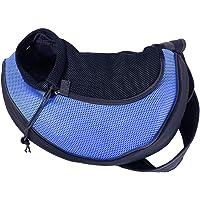 BOTTLEWISE Hundetransporttasche Hunde Tragetasche Unterstützung bis zu 5kg Hundetragetuch Single Schulter Sling Bag für Haustier Hund Katze
