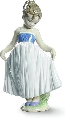 Lladro Look At My Dress Figurine
