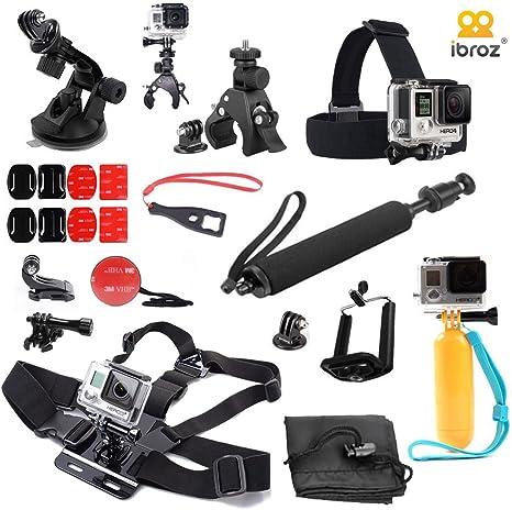 iBroz® - Ultimate Pack de Accesorios 16 en 1 para la camera GoPro ...
