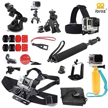 iBroz® - Ultimate Pack de Accesorios 16 en 1 para la camera GoPro - Palillo