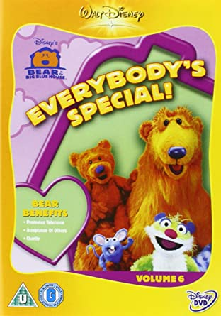 bear in the big blue house everybodys special - Big Blue House